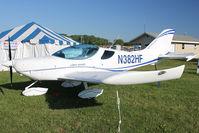 N382HF @ OSH - Czech Sport Aircraft A S SPORTCRUISER, c/n: P1102012 on static display at 2011 Oshkosh