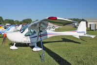 N448RA @ OSH - 2008 Remos Aircraft Gmbh REMOS GX, c/n: 257 on static display at Oshkosh