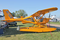 N678DK @ OSH - Aeroprakt America Inc A-22 LS, c/n: 049 on static display at 2011 Oshkosh