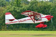 G-BZAR - 1996 James La Denney KITFOX 4-1200 SPEEDSTER, c/n: PFA 172B-12529 at Stoke Golding