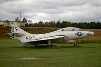 142985 @ 06A - Grumman TF-9J on display at Moton Field Municipal Airport, Tuskegee, AL - by scotch-canadian