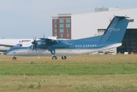 C-GCFK @ CYOW - Leaving rwy 25. - by Dirk Fierens