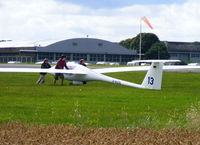 D-KOOL @ X2AD - at the Cotswold Gliding Club, Aston Down - by Chris Hall