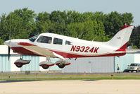 N9324K @ OSH - 1976 Piper PA-28-181, c/n: 28-7690243 arriving at 2011 Oshkosh