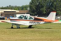 N8909U @ OSH - 1965 Beech 35-C33, c/n: CD-941 at 2011 Oshkosh