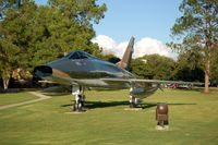 55-3678 @ MXF - 1956 North American F-100D Super Sabre on display at Maxwell AFB, Montgomery, AL - by scotch-canadian