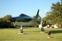 61-0176 @ MXF - 1961 Republic F-105-D-25-RE Thunderchief on display at Maxwell AFB, Montgomery, AL - by scotch-canadian
