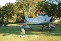 49-1301 @ MXF - North American F-86A-5-NA Sabre on display at Maxwell AFB, Montgomery, AL - by scotch-canadian