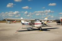 N19303 @ GIF - 1973 Cessna 150L No. N19303 at Gilbert Airport, Winter Haven, FL - by scotch-canadian