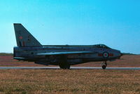 XS923 @ LMML - Lightning F6 XS923/C 5Sqd RAF - by raymond