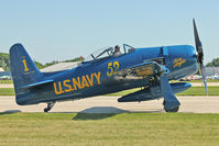 N68RW @ OSH - 1947 Grumman F8F-2, c/n: 1217761 wears false Bu94996 markings - by Terry Fletcher