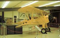 9681 @ NPA - N2S-4 Kaydet on display at the Pensacola Naval Aviation Museum in November 1979. - by Peter Nicholson