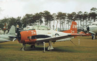 140511 @ NPA - Another view of this T-28C Trojan of Training Squadron VF-3 on display at the Pensacola Naval Aviation Museum in November 1979. - by Peter Nicholson