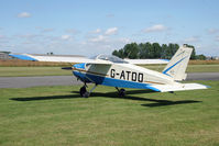 G-ATDO @ EGBR - Bolkow BO-208C at Breighton Airfield's Wings & Wheels Weekend, July 2011. - by Malcolm Clarke