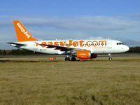 G-EZIY @ EGPH - Easyjet A319 Arrives at EDI - by Mike stanners