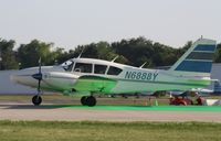 N6888Y @ KOSH - Piper PA-23-250 - by Mark Pasqualino