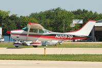 N20978 @ OSH - 1972 Cessna 182P, c/n: 18261336 arriving at 2011 Oshkosh