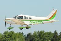 N3238Q @ OSH - 1977 Piper PA-28-161, c/n: 28-7716145 arriving at 2011 Oshkosh