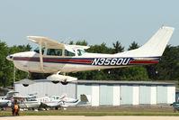N3560U @ OSH - 1963 Cessna 182F, c/n: 18254960 at 2011 Oshkosh