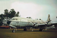 128431 @ NPA - C-118B Liftmaster of Patrol Squadron VP-52 as displayed at the Pensacola Naval Aviation Museum in Novembr 1979. - by Peter Nicholson