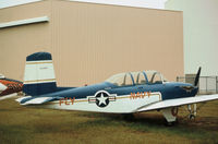 140816 @ NPA - This T-34B Mentor on display at the Pensacola Naval Aviation Museum in November 1979 was later to join the US civil register. - by Peter Nicholson