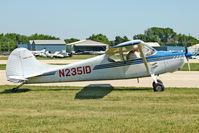 N2351D @ OSH - 1952 Cessna 170B, c/n: 20503 at 2011 Oshkosh