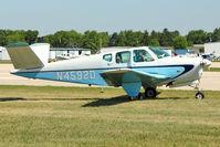 N4592D @ OSH - 1956 Beech G35, c/n: D-4760 at 2011 Oshkosh