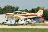 N3113G @ OSH - 1988 Beech F33A, c/n: CE-1252 at 2011 Oshkosh