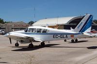 EC-GLA @ LECU - Piper PA-23-250 Aztec E [27-4811] (Airman) Cuatro Vientos~EC 10/07/2011 - by Ray Barber