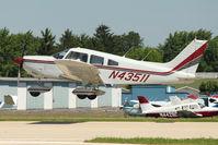 N43511 @ OSH - 1974 Piper PA-28-180, c/n: 28-7405201 at 2011 Oshkosh