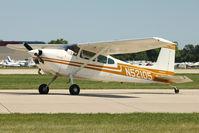 N52105 @ OSH - 1974 Cessna 180J, c/n: 18052504 at 2011 Oshkosh