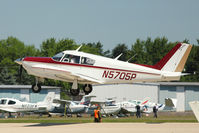N5705P @ OSH - 1959 Piper PA-24-250, c/n: 24-778 at 2011 Oshkosh