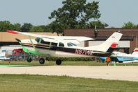 N9714X @ OSH - 1962 Cessna 210B, c/n: 21058014 at 2011 Oshkosh