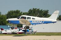 N8204J @ OSH - 1982 Piper PA-28-161, c/n: 28-8216154 at 2011 Oshkosh