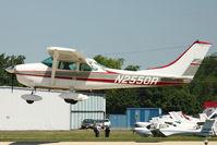 N2550R @ OSH - 1967 Cessna 182K, c/n: 18258250 at 2011 Oshkosh