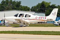 C-FPYX @ OSH - 2005 Cirrus SR-20, c/n: 1587 at 2011 Oshkosh - by Terry Fletcher