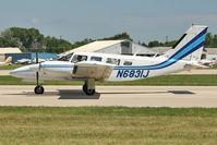 N6831J @ OSH - 1976 Piper PA-34-200T, c/n: 34-7670282 at 2011 Oshkosh