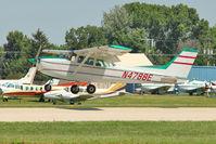 N4788E @ OSH - 1978 Cessna 172N, c/n: 17271653 at 2011 Oshkosh