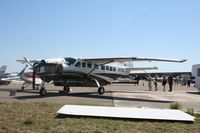 N171CC @ LAL - Cessna 208B the largest aircraft to be destroyed by the March 31 severe storm at Sun N Fun