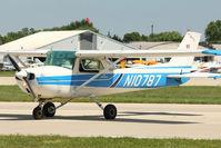 N10787 @ OSH - 1973 Cessna 150L, c/n: 15075039 at 2011 Oshkosh