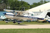 N8705G @ OSH - 1966 Cessna 150F, c/n: 15062805 at 2011 Oshkosh