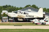 N28618 @ OSH - 1978 Grumman American Avn. Corp. AA-5B, c/n: AA5B0707 at 2011 Oshkosh