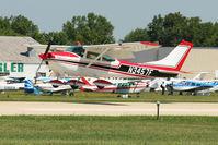 N3457F @ OSH - 1966 Cessna 182J, c/n: 18257457 at 2011 Oshkosh