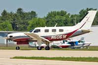 N6061K @ OSH - 2008 Piper PA46-500TP, c/n: 4697374 at 2011 Oshkosh
