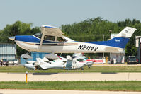 N2114V @ OSH - 2004 Cessna 182T, c/n: 18281320 at 2011 Oshkosh