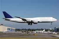 N6067U @ KPAE - KPAE/PAE Boeing 021 completes the set of all flying 747-8's for me as of this date!