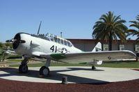 N100GD - North American SNJ-5 Texan at the Flying Leatherneck Aviation Museum, Miramar CA - by Ingo Warnecke