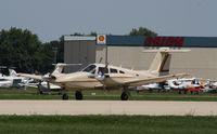 N8465B @ KOSH - Piper PA-44-180T - by Mark Pasqualino