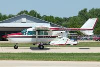 N85918 @ OSH - 1968 Cessna 337D, c/n: 337-1023 at 2011 Oshkosh