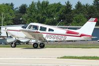 N56629 @ OSH - 1973 Piper PA-28-235, c/n: 28-7410017 at 2011 Oshkosh